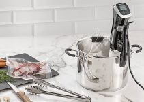 Gourmia - GSV140- Immersion Sous Vide Pod 2nd Generation - Circulator Precision Cooker – Ergonomic Sleek Designed Digital View While Cooking- 1200 Watts - Black- Includes Gourmet Recipe Book Review