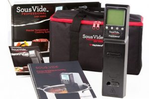 PolyScience CHEF Series Sous Vide Immersion Circulator Product and Accessories