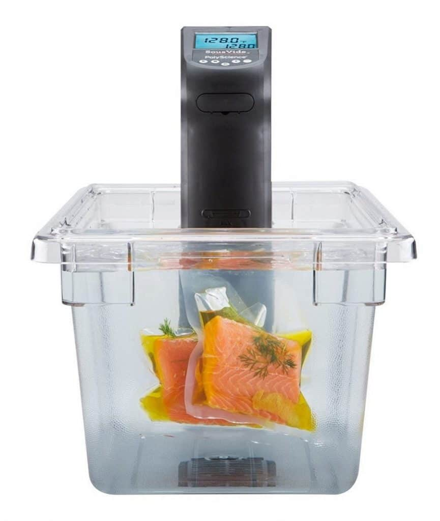 PolyScience CREATIVE Series Sous Vide Immersion Circulator in Container