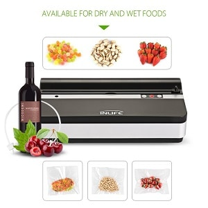 INLIFE K9 Automatic Food Saver with Cutter Vacuum Sealer Machine Product Image