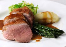 Duck Breast with Asparagus Sous Vide