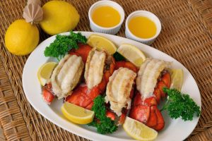 Lobster Tail Sous Vide with Lemon Butter Sauce