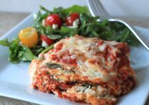 No Meat Delicious Lasagna with Sous Vide Eggplant