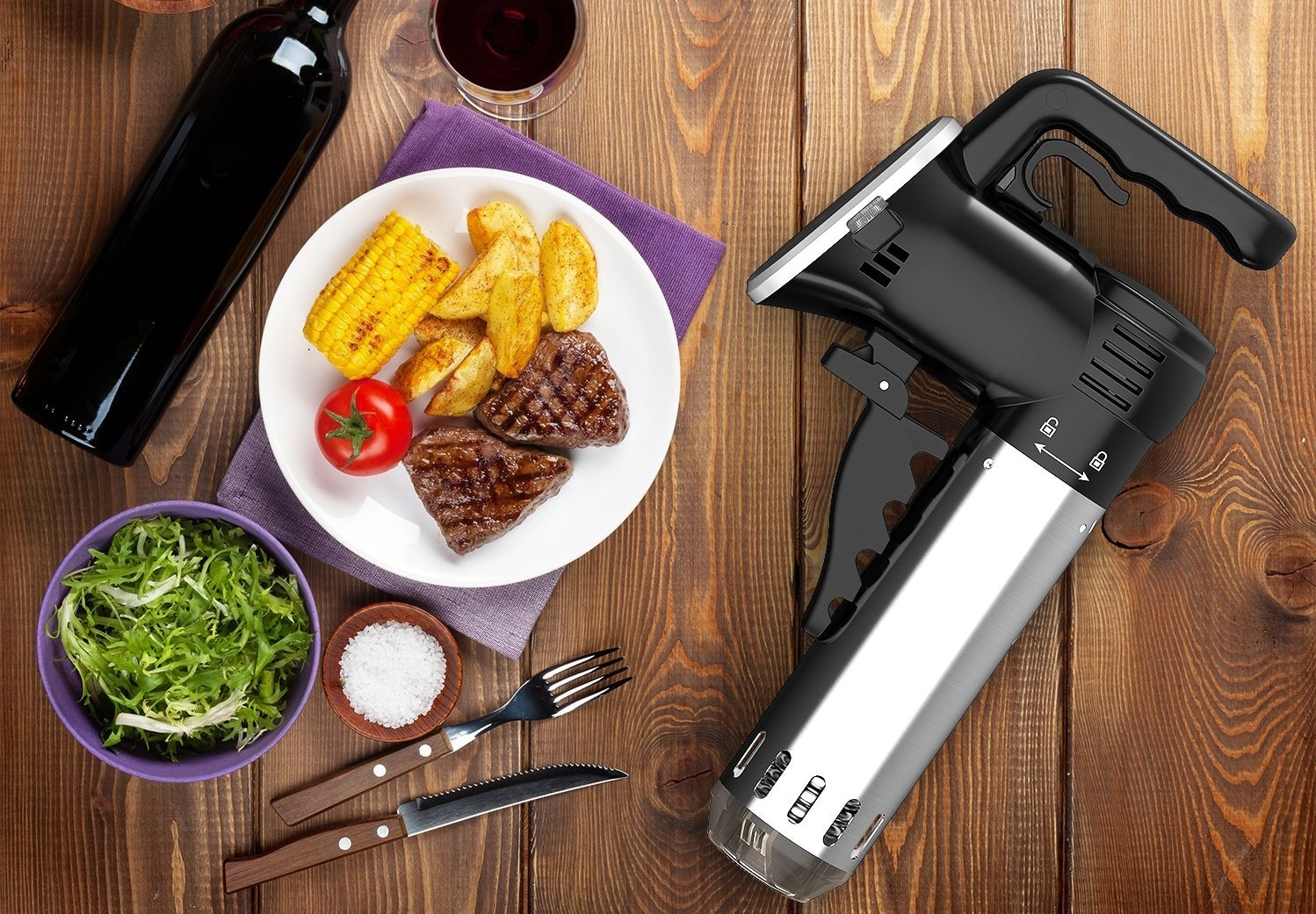 Wancle Sous Vide Precision Cooker Product Image Review