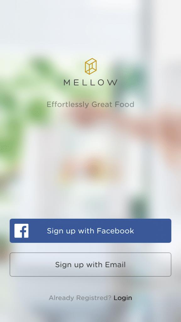 Mellow App Initial Setup