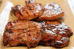 Apple Balsamic Sous Vide Pork Chops Recipe