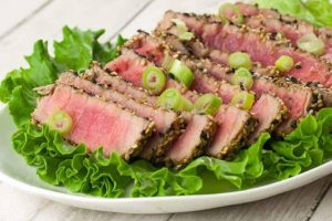 Sesame Crusted Sous Vide Tuna Recipe