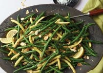 Sous Vide Green Beans With Almonds, Citrus, And Garlic Recipe