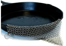 Clean Cast Iron Chain Mail